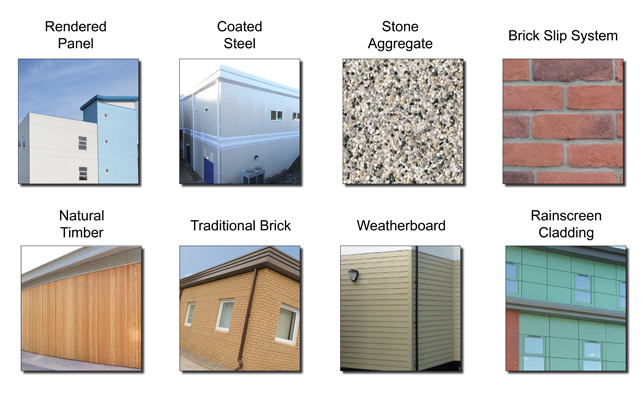 Types Of Exterior Wall Finishes : Mtx contracts external finishes