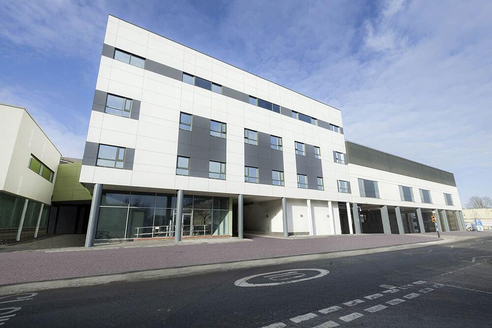Exterior Northwick Hospital