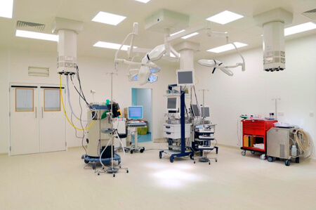 Operating Theatre, Anaesthetic and Scrub