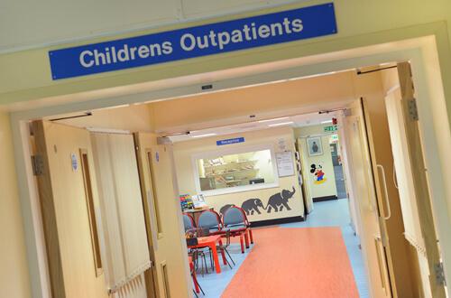 Princess Royal Hospital in Telford.