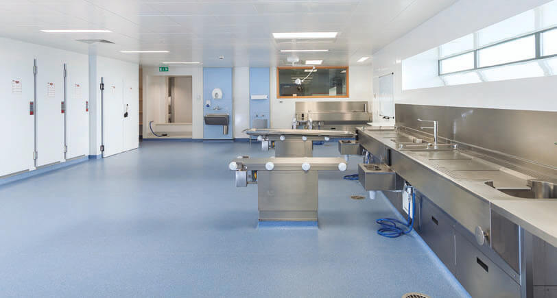 City Mortuary at Forster Green Hospital, Belfast, Northern ...  Mortuary