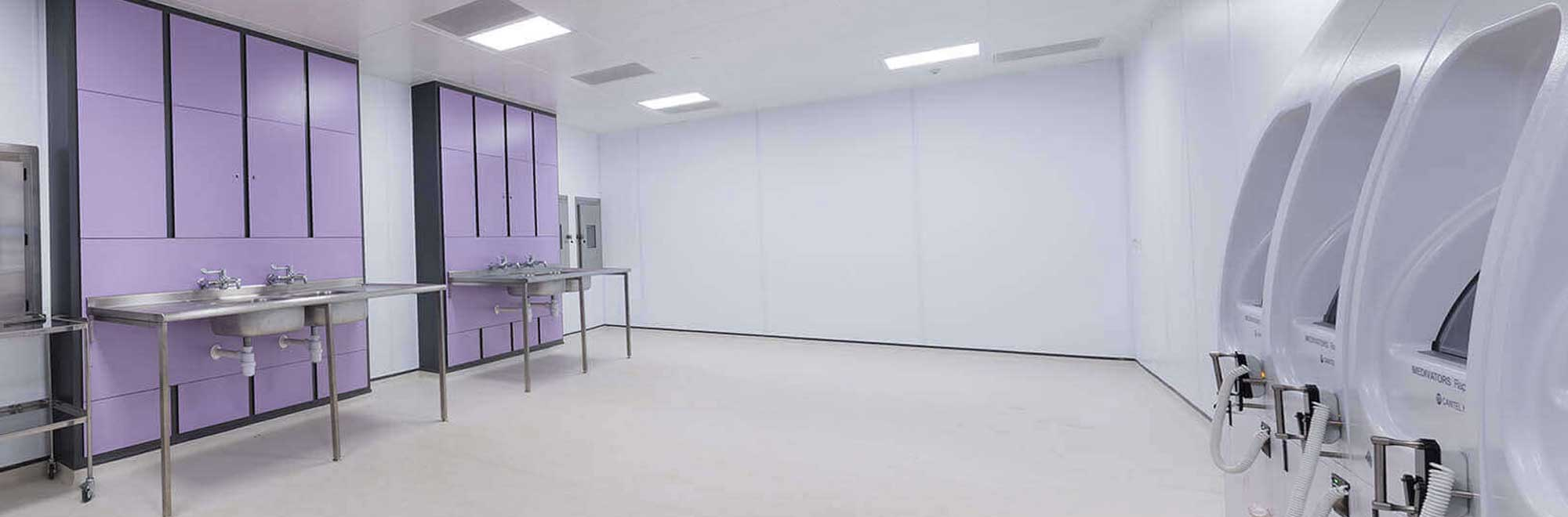 George Eliot hospital new endoscopy unit