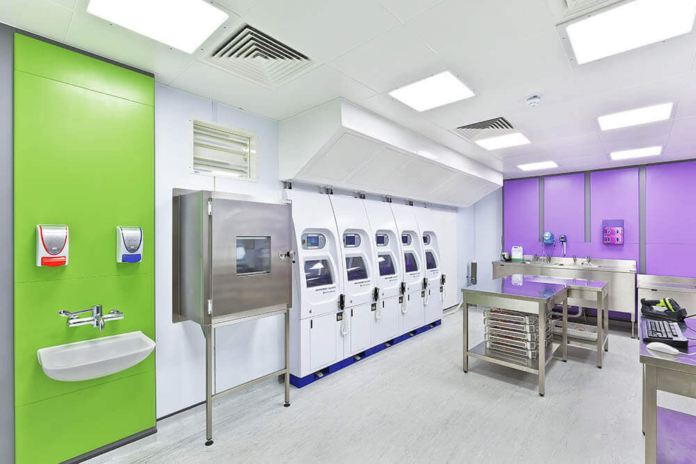 Colchester General Hospital Modular Endoscopy Decontamination Facility