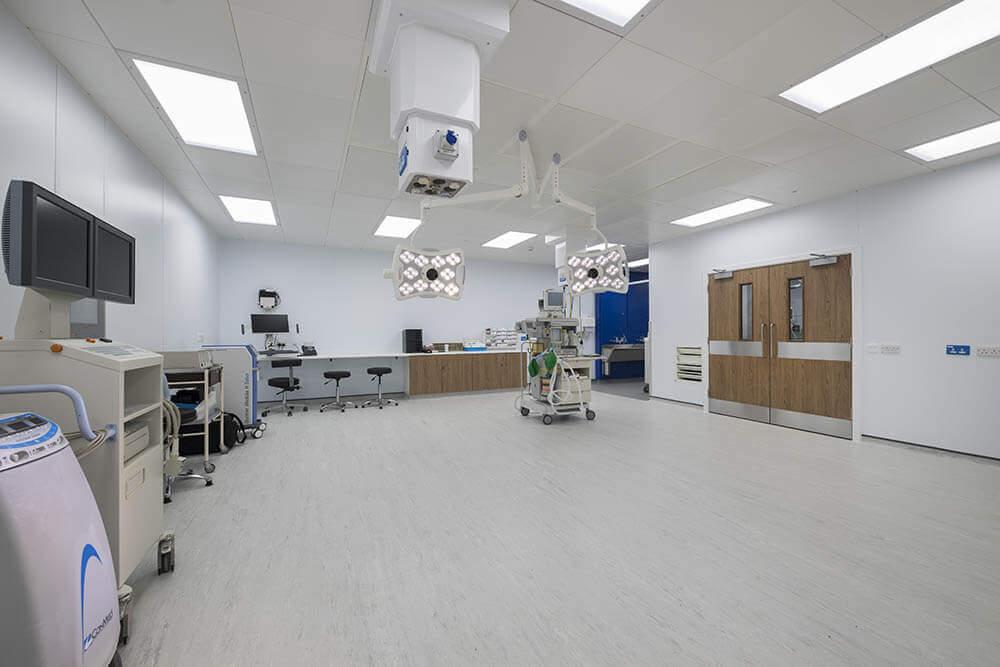 Royal Bolton Hospital Modular Urology Department Operating Theatre