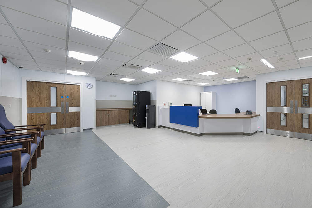 Royal Bolton Hospital Modular Urology Department Reception