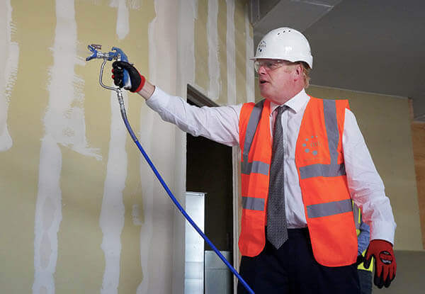 Boris Johnson visits Hereford County Hospital 3