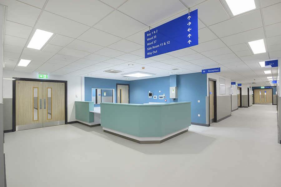 Glenfield Hospital Reception