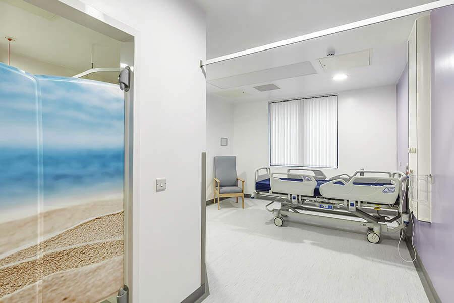 Norfolk & Norwich University Hospital Ward Side Room