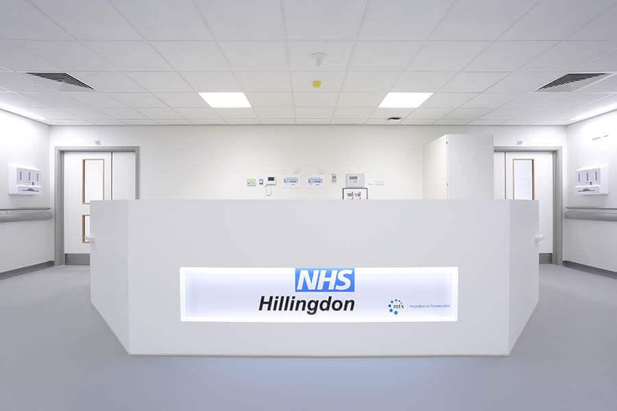 Hillingdon Hospital – Reception Desk